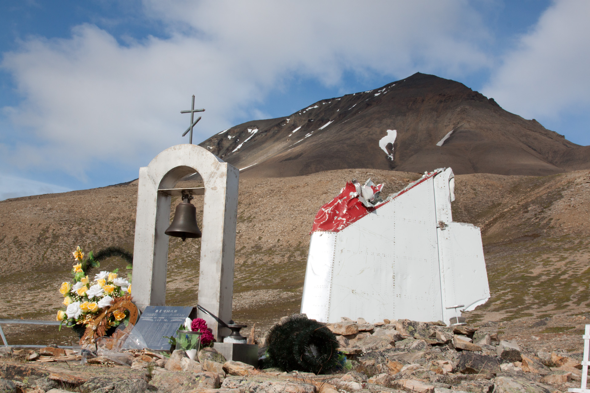 carash, monument, adventdalen, operafjellet
